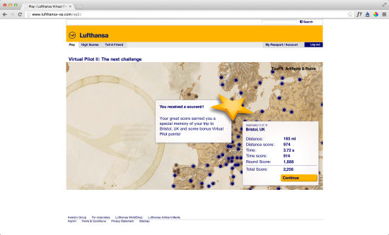 Lufthansa VP Screenshot 2